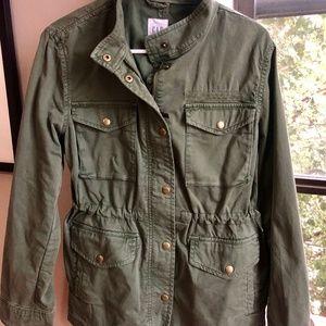 Gap Oversized Military-Style Jacket